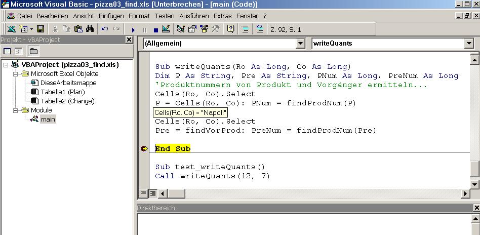 makro excel programmieren
