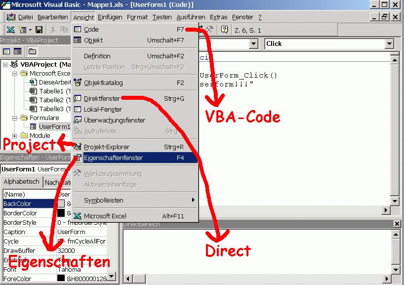 EXCEL-Exkursion in VBA] - Einführung in Excel-VBA-Programmierung